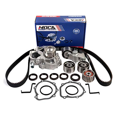 MOCA Timing Belt Water Pump Kit for 2006-2012 Subaru Impreza & 06-12 Subaru Forester W/Manual Transmission & 06-12 Subaru Outback VIN'G' 2.5L H4 SOHC EJ25 Engine TCK304A