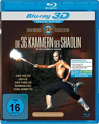 Shaw Brothers - Die 36 Kammern der Shaolin Real 3D BD [3D Blu-ray] [Special Edition]