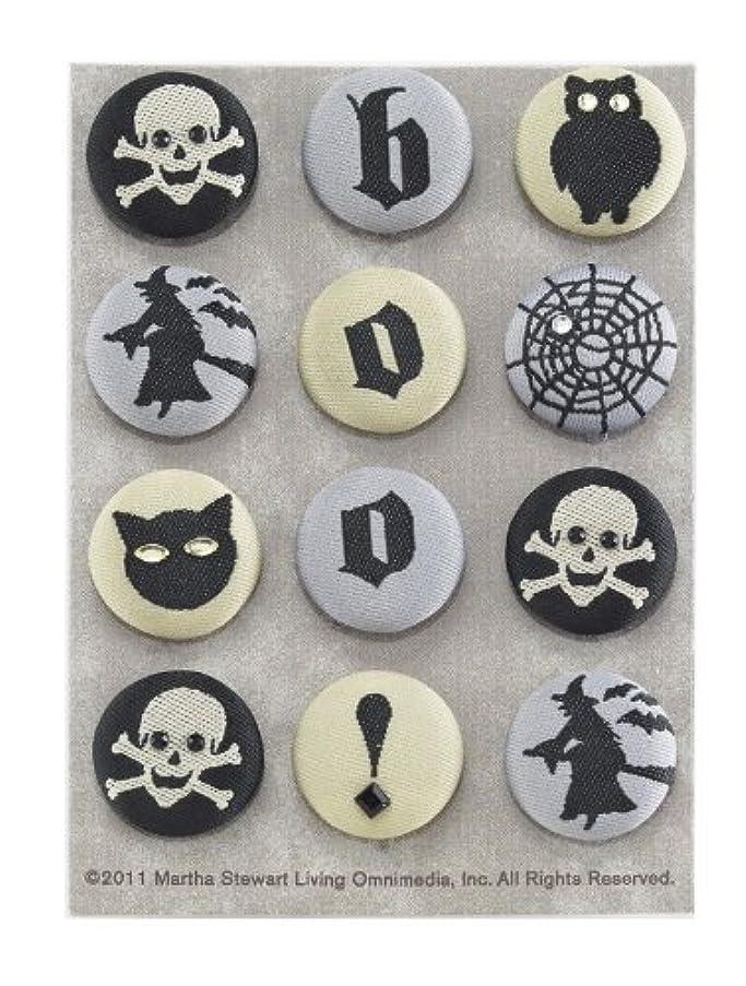 Martha Stewart Crafts Elegant Witch Fabric Brads