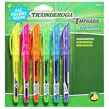 Dixon Fluorescent Colors Pocket Highlighters