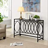 Abfire Sofa Table, Middle, Silver