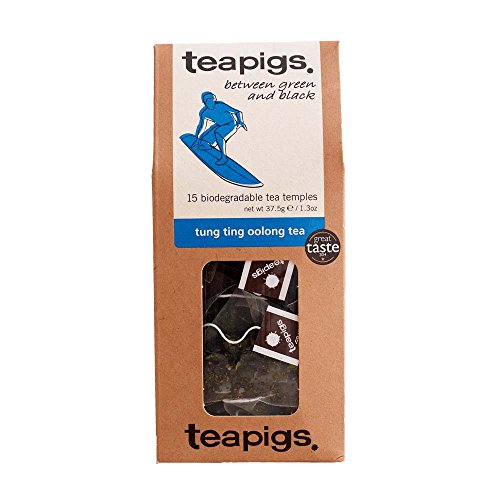 Teapigs Tung Ting Oolong Tea Bags Made with Whole Leaves (1...