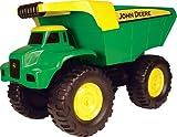 TOMY John Deere Durable Construction Vehicles Toy for Kids, Big Scoop Dump Truck, 21 Inch