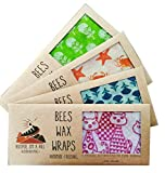 Hoopoe on a Hill Beeswax Wraps (Yellow)