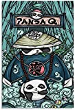 JRLDMD Laminas para Cuadros Póster de Animal de Kung Fu Panda de Estilo Chino, póster de Arte en Lienzo y Poster de impresión de Cuadros de Pared en Lienzo 60x90cm x1 Sin Marco