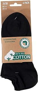 Lieblingsstrumpf24, 8 pares de calcetines de algodón orgánico, sin costuras, certificado Öko-Tex Standard 100