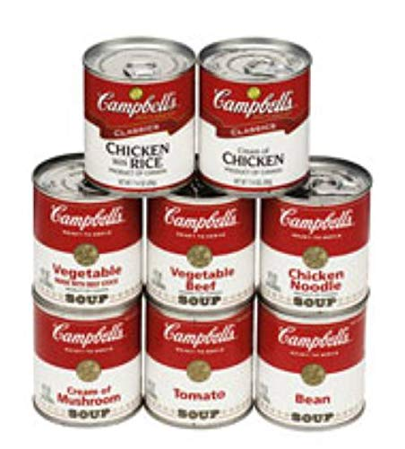 Campbells Max 77% OFF Ready Super popular specialty store To Serve Chicken Soup with - Rice oz. 7.25 can