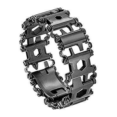 Diamond Survival Multitools Bracelet Black, Travel Friendly Wearable Multitool by Diamond Team