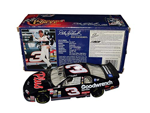 1998 Dale Earnhardt Sr. #3 Goodwrench Racing DAYTONA 500 RACE WIN Rare Vintage Collectible Winner's Circle 1/24 Scale NASCAR Diecast Car