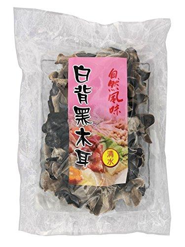 [ 100g ] getrocknete Schwarze Pilze [ schwarz/weiß ] Mu-Err / Morcheln / Black Fungus