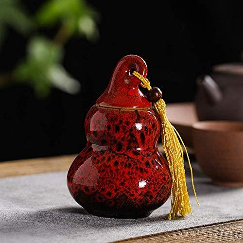 Pot à thé en céramique théière créative décoration de la maison décoration décoration de thé accessoires réservoir de stockage art portable boîte à thé salon décoration de bureau artisanat en céramiqu