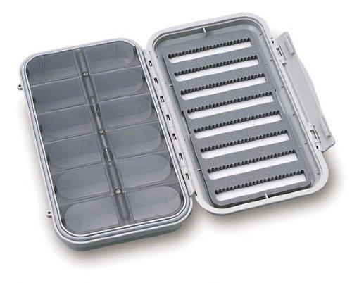 C & F Design CF-3308 8 Row 12 Compartment Large Waterproof Fly Box