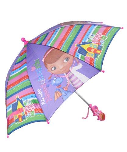 Regenschirm–Disney Doc McStuffins in House Griff New Geschenke Toys Kinder Mädchen