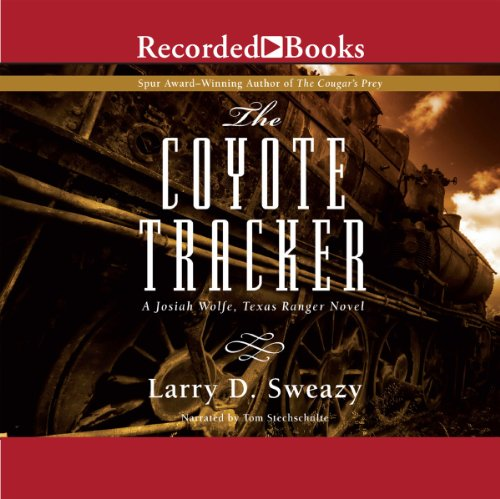 The Coyote Tracker audiobook cover art