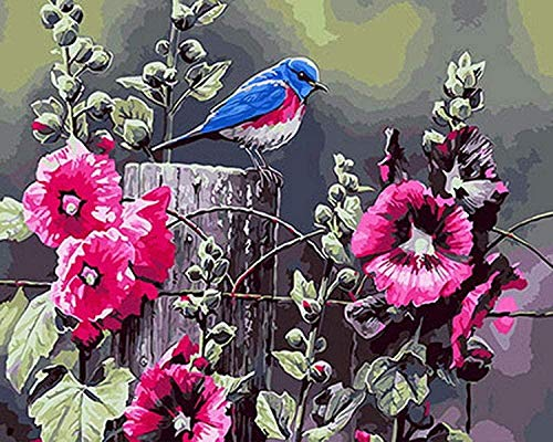 Houten puzzel 1000 stukjes stukjes for Volwassen kinderen educatief Stress Reliever -Morning glory vogel-Modern Home Decor Art Uniek Cadeau 50X75CM