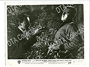 MOVIE PHOTO: CRY IN THE NIGHT-1956-8X10 PROMO STILL-RICHARD ANDERSON-FILM NOIR-CRIME VG