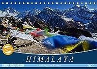 Himalaya (Tischkalender 2022 DIN A5 quer): Die Berge des Himalaya (Monatskalender, 14 Seiten )