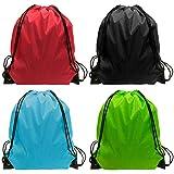 Drawstring Bag - 24 Pack Drawsting Backpack Bags Backpack Bulk Storage Bages for Gym Traveling Multicolor Drawstring...