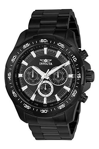 INVICTA Reloj analógico para Hombre de Cuarzo con Correa en Acero Inoxidable 22785