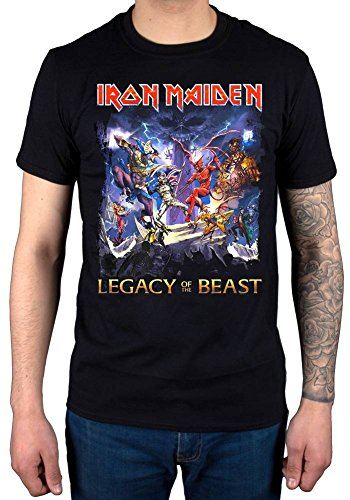 Official Iron Maiden Legacy of The Beast T-Shirt