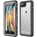 TESTGO iPhone 6 Plus Waterproof Case iPhone 6s Plus Waterproof Case IP68 Underwater with Built in Screen Protector Full...