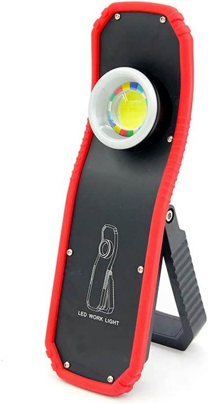 OUTDOOR 60W USB RECHARGEABLE COB LED FLASHLIGHT WORK LIGHT HANGING HOOK LAMP