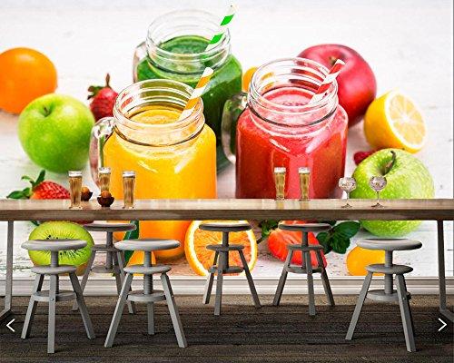 Yosot Aangepaste Snoepjes Ijs Fruit Voedsel Foto Behang Woonkamer Tv Achtergrond Muur Slaapbank Slaapkamer Keuken Restaurant 3D Mural 400cmx280cm