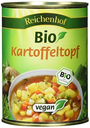 Reichenhof Kartoffeltopf vegan, 6er Pack (6 x 560 g) - Bio