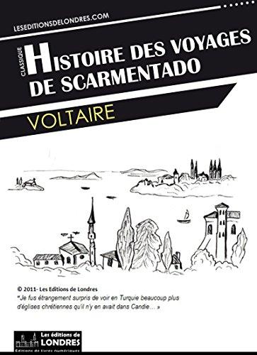 Couverture du livre Histoire des voyages de Scarmentado écrite par lui-même