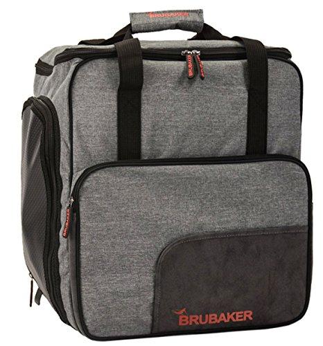 Brubaker Super Perfomance Skischuhtasche Helmtasche Rucksack