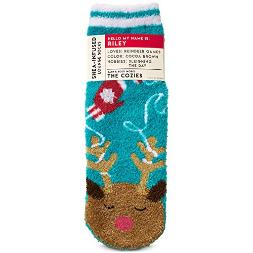 Bath and Body Works Riley The Reindeer Shea-Infused Lounge Socks