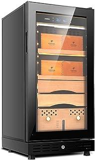 Humidors Kompressor luftkyld cigarr skåp konstant temperatur och luftfuktighet cigarr cederträ cigarr intelligent manöverp...