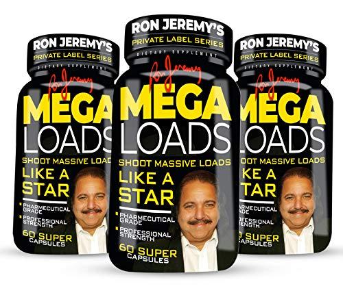 Ron Jeremy's Mega Loads Men's Formula Private Label Series - 3 Bottles