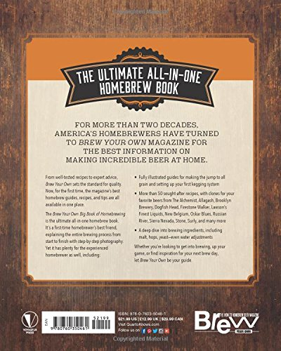 Product Image 2: The Brew Your Own Big Book of Homebrewing: All-Grain and Extract Brewing * Kegging * 50+ Craft Beer Recipes * Tips and Tricks from the Pros