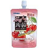 オリヒロ ぷるんと蒟蒻ゼリー 低カロリー さくらんぼ 130g×8個
