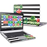 MightySkins Skin Compatible with Samsung Notebook 7 Spin 13.3' (2016) wrap Cover Sticker Skins Tropical Stripes
