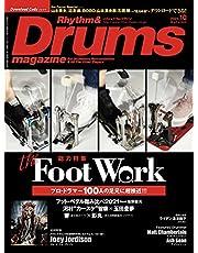 Rhythm & Drums magazine (リズム アンド ドラムマガジン) 2021年 10月号 (特集:the Foot Work)