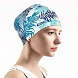Best Waterproof Swim Caps - COPOZZ Swim Cap for Ladies, Upgraded Silicone Swimming Review