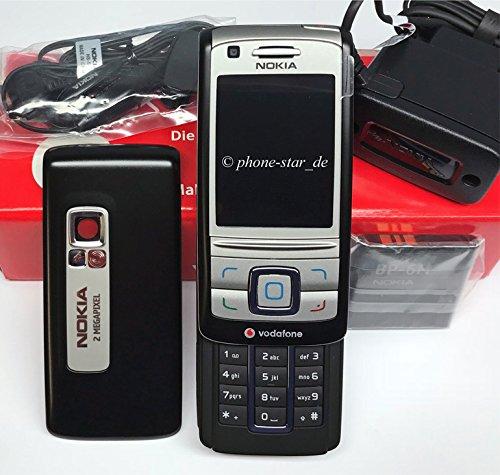 Nokia 6280 Carbon Black RM78 Slider Handy Schwarz Ohne Simlock