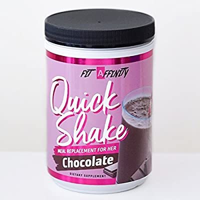 Fit Affinity Quick Shake - Meal Replacement for Her (Chocolate)