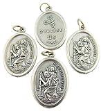 San Cristóbal Medallas 4 medallas de San Cristóbal. San Cristóbal