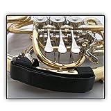 manale con impugnatura soundman® adatto per corno doppio, corno francese e corno per bambini (ottimo isolamento) adatto per concerti all'aperto - taglia: m (per mani più piccole)