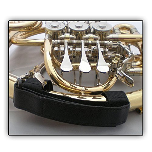 Soundman® Lazo para Cuerno de Caza - Hand Loop for French Horn/Children's Horn/Double Horn Carrying Handle - perfect insulation e.g. for outside gigs - Size: L (for larger hands)