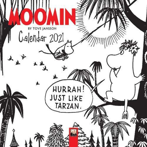 Moomin by Tove Jansson Mini Wall calendar 2021 (Art Calendar)
