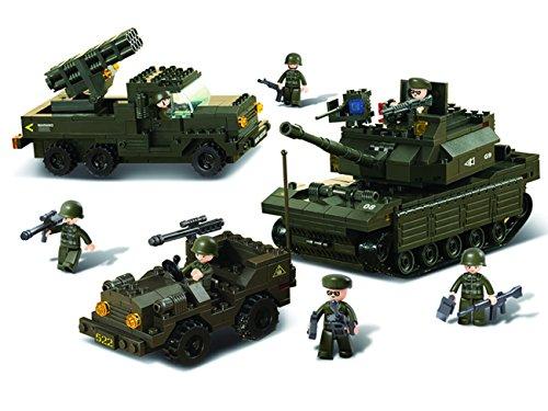 Sluban M38-B6800 Army - Battaglia campale Forces