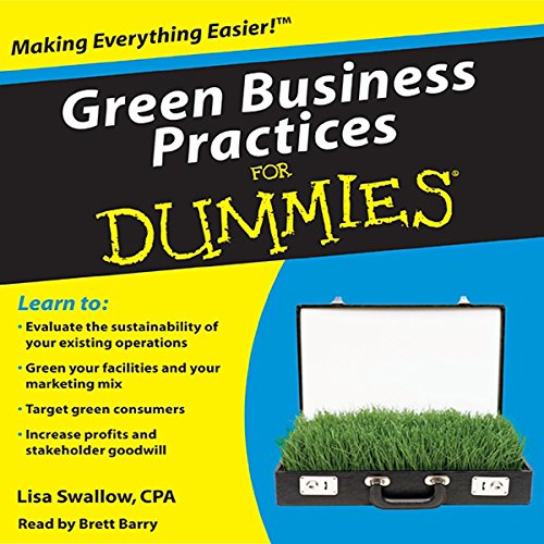 Green Business Practices For Dummies audiobook cover art
