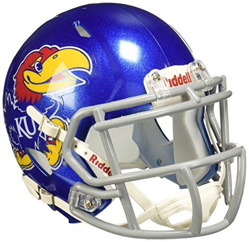 NCAA Speed Mini-Helm für Erwachsene, Herren Unisex Damen, 3002060, Kansas Jayhawks, 7.5