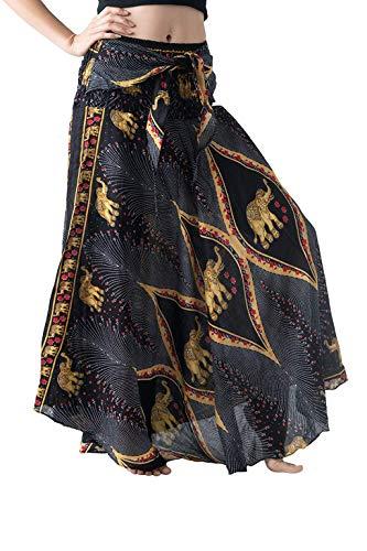 Poachers Vestidos Playa Mujer Verano 2019 Faldas Mujer largas Vestidos Mujer Casual Verano Fiesta Vestidos Verano Mujer Tallas Grandes Falda Larga Mujer Elegante Falda Flamenca Mujer Volantes