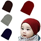 BOMPOW Baby Beanie Hat Cozy Cotton Hat Infant Toddler Baby Beanies for Boys Girls