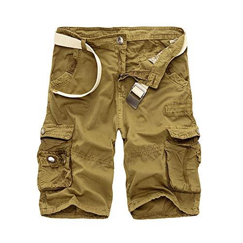 DONNU Shorts De CháNdal De Camuflaje para Hombre Ropa De Hombre